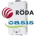 Запчасти газовых колонок Oasis, Roda (ВПГ, проточных водонагревателей)