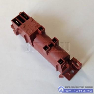 Блок электро розжига, электроподжиг 4-х канальный многоискровой для газовых плит Гефест 5100-01, Дарина. (GDR 24400, WAC-T4)