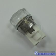 Патрон керамический с лампой 15W