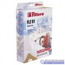"""Набор пылесборников Filtero FLZ 01, микроволокно """"Экстра"""" 4 шт."""