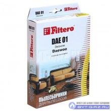 """Набор пылесборников Filtero DAE 01, бумажные """"Эконом"""", 4 шт."""