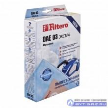 """Набор пылесборников Filtero DAE 03, микроволокно """"Экстра"""" антиаллергенный, 4 шт."""