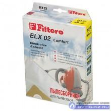 """Набор пылесборников Filtero ELX 02 """"Комфорт"""", микроволокно, 4 шт."""