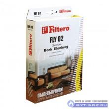 """Набор пылесборников Filtero FLY 02, бумажные """"Эконом"""", 4 шт."""