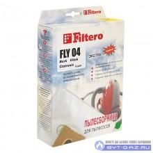 """Набор пылесборников Filtero FLY 04, микроволокно """"Экстра"""" 4 шт."""