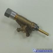 """Кран горелки """"GEFEST"""" Гефест 5100, 6100, 6300, 6500, с ВМП-29, с устройством безопасности (3300.27.0.000-26)"""