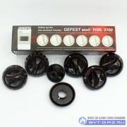 """Набор ручек для газовой плиты """"GEFEST"""" мод. 1100, 3100 (коричневые)"""