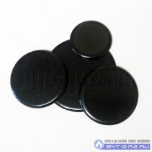 """Комплект крышек """"Deluxe"""" на горелки (Sabaf) моделей 5040, 506040, 606040 (с 2012 года выпуска), матовая эмаль, 4 шт."""