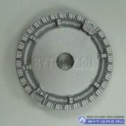 Горелка конфорка SOMIPRESS средняя для плит Гефест 1500, 3500, 5500-6500, CH1210, 2120, 2230