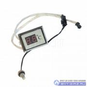 """Индикатор температуры (дисплей) ВПГ """"Таганрог Газоаппарат"""" (прямоуг.) старая модель"""